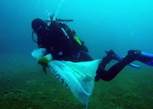 TURMEPA sahillerde kıyı temizliği yaptı