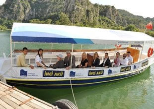 Dalyan'da turizmi coşturacak çevreci  proje