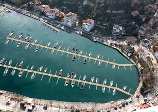 İstanbul Boğazı'na 8 yeni tekne park geliyor