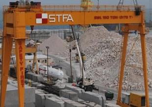 STFA, Kuveyt'te liman inşa edecek