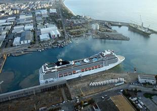 Port Akdeniz  elleçleme rekoru kırdı