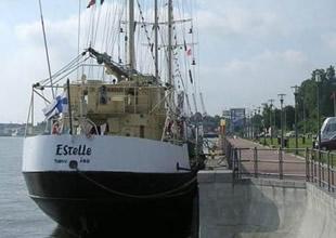 Estelle gemisi Gazze yolunda ilerliyor