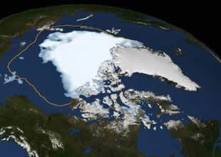 30 yılda kutuptaki buzulların çoğu eridi