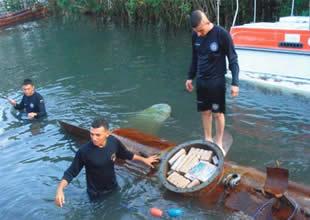Yeni bir uyuşturucu denizaltısı yakalandı