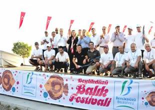 Balık Festivali'ne10 bin kişi katıldı