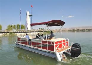Batmayan alüminyum tekne üretildi
