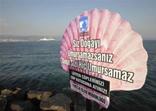 Çanakkale'de 'Denizler kirlenmesin' projesi
