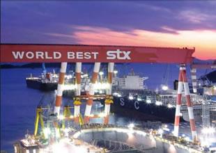 Dünyanın en büyük vinci STX Dalian'da