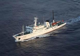 Çin gözetim gemileri Japon karasularında