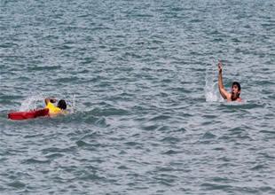 Denizde çocuklarınızı yalnız bırakmayın