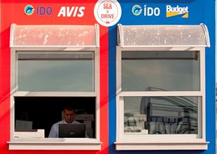 İDO terminallerinde araç kiralama dönemi