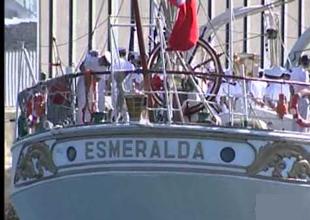 Pinochet'in işkence gemisi İstanbul'da