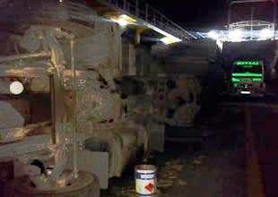 Seyirdeki Ro-Ro gemisinde TIR devrildi