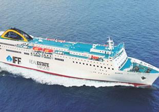 Yunan gemisinde Türk fuarı yapılacak