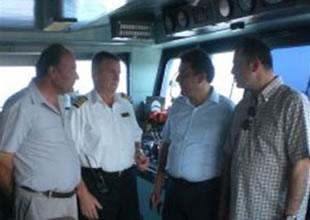 KKTC'ye ilk kez bir cruise gemisi ziyaret etti