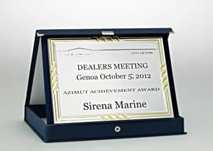 Azimut Başarı Ödülü'nün sahibi Sirena Marine