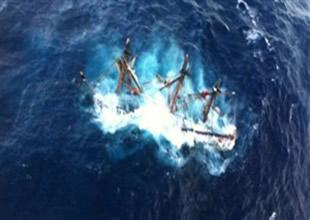 Kasırga Karayip Korsanları gemisini batırdı
