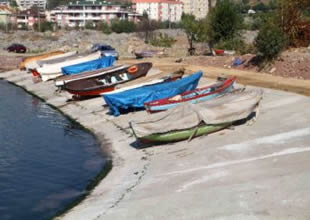Belediye İzmit'e yeni çekek yeri yaptı