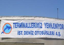 İDO; Terminalleri Yeniliyor