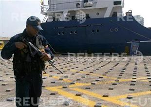 Gemide 1225 kilo uyuşturucu yakalandı