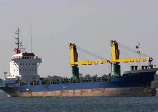 Ege'de ''Gofer B'' adlı gemi karaya oturdu
