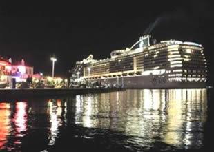 MSC Divina gemisi Marmaris'e sığındı
