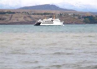 Van Gölü'nde deniz ulaşımı yapılamıyor