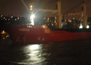 İstanbul Boğazı'nda korkutan kaza