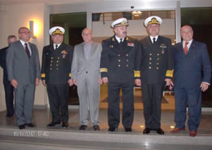 Ukraynalı komutan ADİK'i ziyaret etti