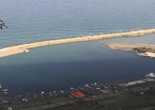 Abana Balıkçı Barınağı'nın kum sorunu