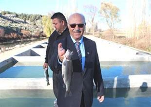 Beyşehir'de belediye balıkçılığa başladı