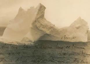 Titanik'i batıran buzulun fotoğrafı satılıyor