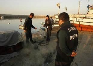 Batı Karadeniz'de balıkçılara baskın