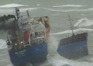 BBC Adriatic Kilyos'ta karaya sürüklendi
