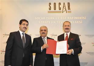 Stratejik Yatırım Teşvik Belgesi SOCAR'ın