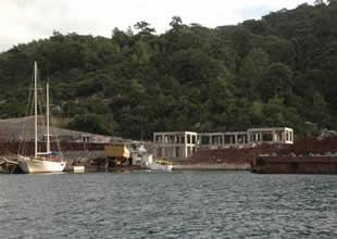 Fener Adası inşaatına çevreciler tepkili