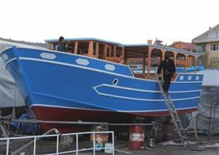 Kurucaşile'den Samsun Valiliği'ne tekne