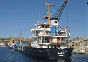 M/V Nasip gemisine müdahale edildi