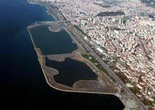 Maltepe'de dolguyla denizde dev yeşil alan