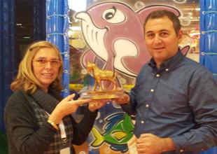 İstanbul Akvaryum en prestijli ödülü aldı
