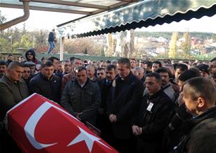 Şehit Mehmet Genç dualarla uğurlandı