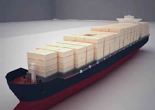 Rongsheng ilk konteyner gemisini teslim etti