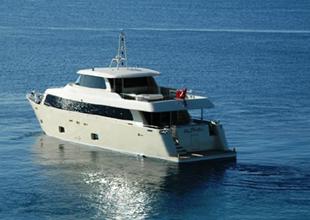 "Aegean Yacht  ""Alpha 1"" i denize indirdi"