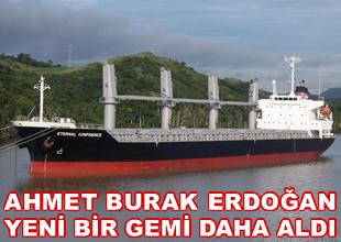 Ahmet Burak Erdoğan bir gemi daha aldı