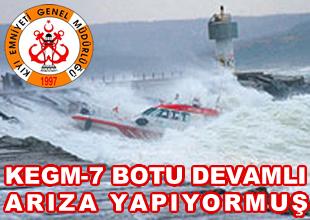 KEGM-7 botu devamlı arıza çıkarıyormuş