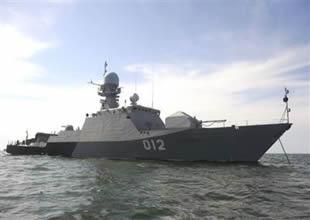 Rus savaş gemileri Ege Denizi'ne açıldı