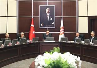 SSİK, Erdoğan başkanlığında toplandı
