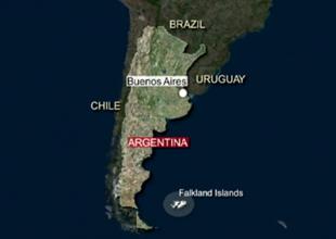 İngiltere ile Arjantin'in Falkland tartışması