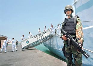 TCGBafra korvetinde kaçakçılık baskını