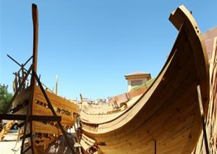 Türk ekibin antik çağ gemisiyle seyahati